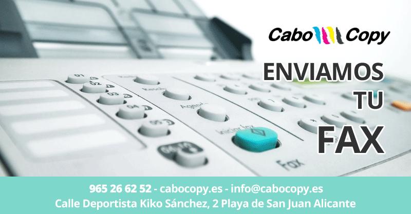 Servicio de Envío de Fax urgente en Alicante