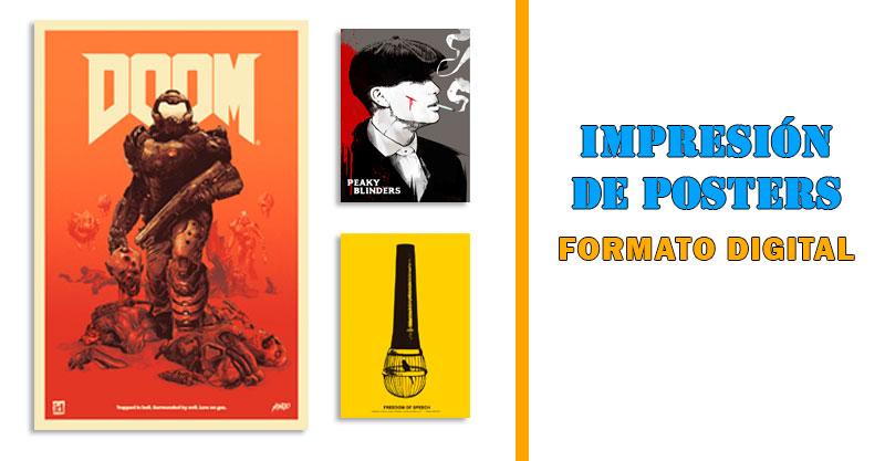 Impresión de posters en Alicante
