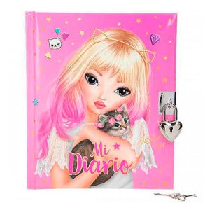Diario Top Model rosa
