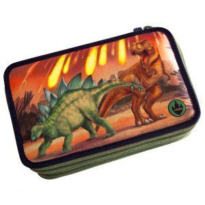 Estuche escritura triple lleno - Dino World
