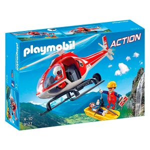 Playmobil Helicóptero Rescate