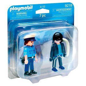 Playmobil pack policía y ladrón