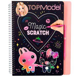 Top Model Magic-Scratch Book