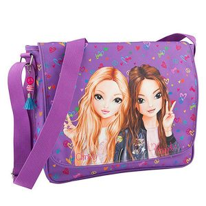 Bolso bandolera Top Model con purpura