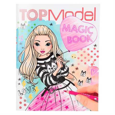 Top Model Magic Book