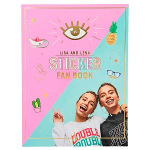 Lisa y Lena J1MO71 - Fan sticker book