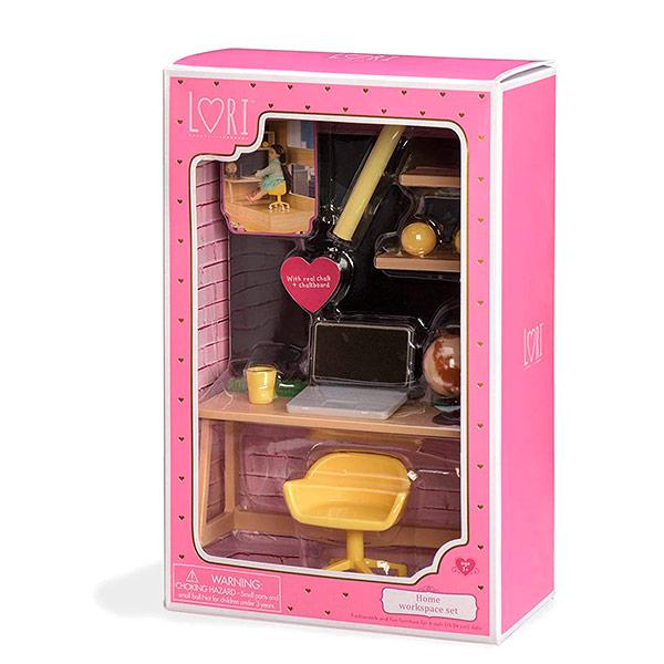 Muñecas Lori - Conjunto mesa trabajo