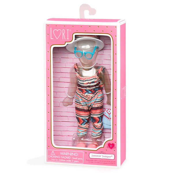 Muñecas Lori - Conjunto ropa Jammin Jumper