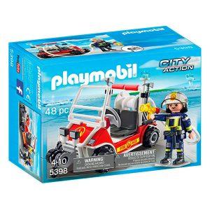 Playmobil coche de bomberos