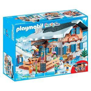 Playmobil escuela de esquí