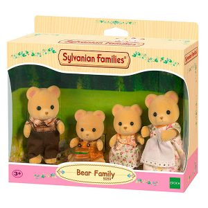 Sylvanian Families familia osos pardos