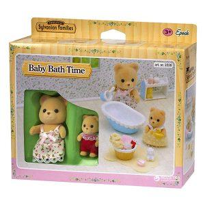 Sylvanian Families la hora del baño para el bebé