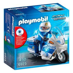 Paymobil policía en moto