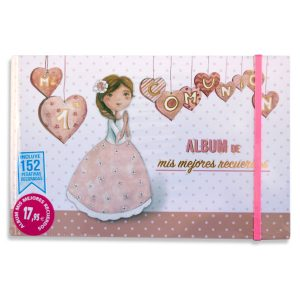 Álbum primera comunión mis mejores recuerdos - (para ella)