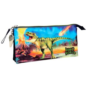 Dino World - Estuche triple