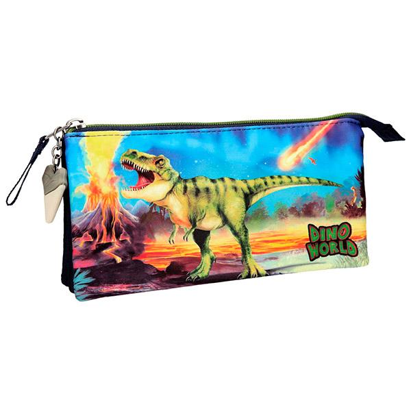 Dino World - Estuche triple