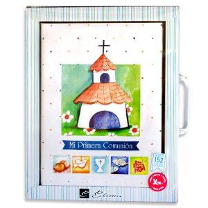 Libro de firmas comunión + Maletín - (Diseño Ermita)
