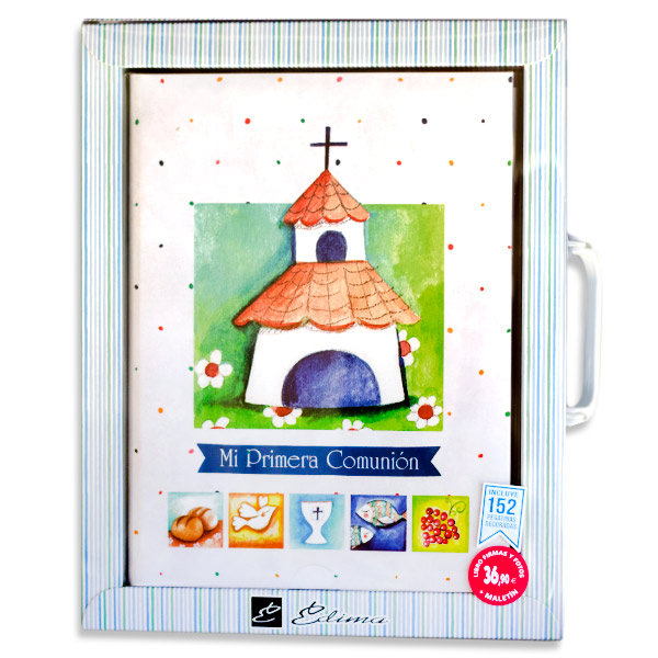 c514d2b31 Libro de firmas comunión + Maletín – (Diseño Ermita)   Cabocopy