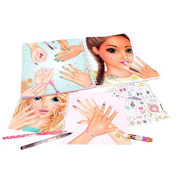 TopModel – Cuaderno para colorear manos   Cabocopy