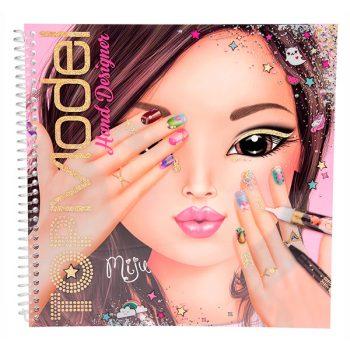 TopModel – Cuaderno para colorear manos