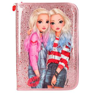 TopModel Friends - Estuche Grande, Color Rosa
