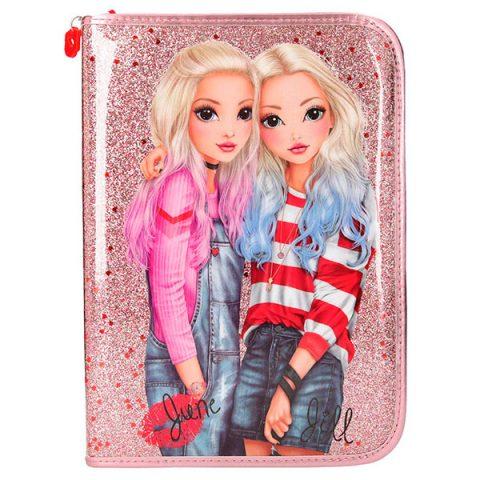 TopModel Friends - Estuche Grande, Color Rosa