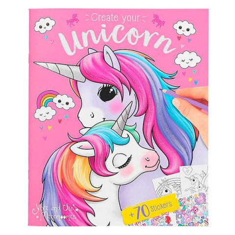 Ylvi & the Minimoomis - Create your Unicorn (Crea tu Unicornio)