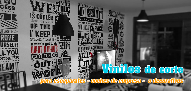 Vinilos de corte para escaparates - coches de empresa - decorativos en Playa de San Juan - Alicante