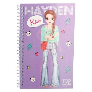 Cuaderno motivo Dress me up - pocket - TOP MODEL