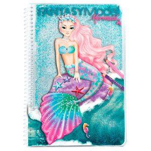 Libro para Colorear Mermaid - TOP MODEL