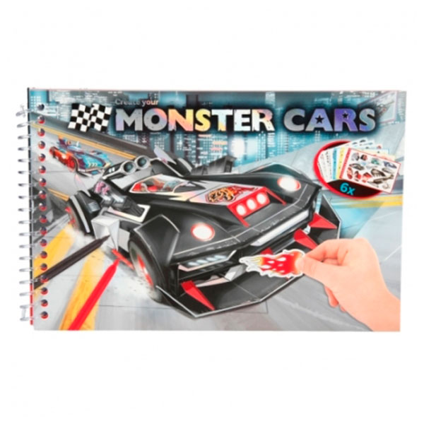 Coloring Book - Monster Cars