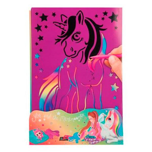 Crea tus propias tarjetas de rascar coloridas - Ylvi and the Minimoomis