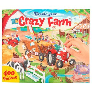 Create your Crazy Farm - Libro para Colorear - DEPESCHE