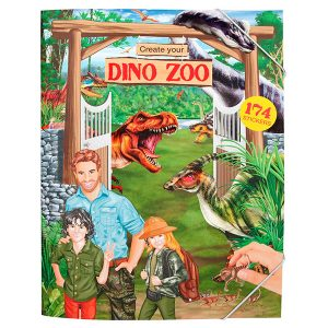 Create your Dino Zoo con 174 Stickers - Dino World