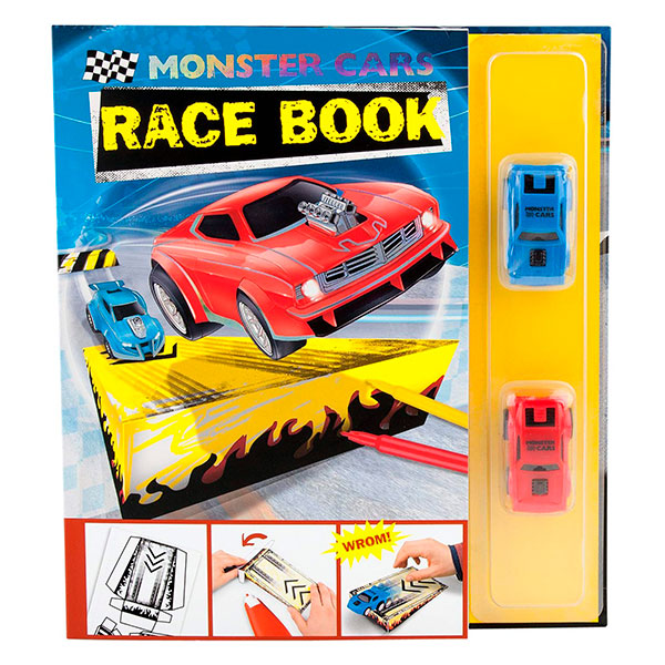 Libro Monster Cars Race