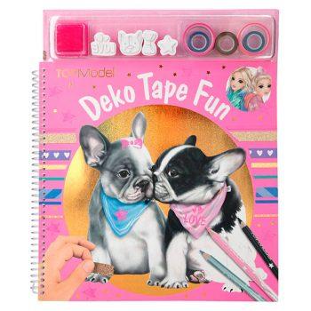 Libro de Colorear Decorativo, con Cintas Decorativas - TOP MODEL