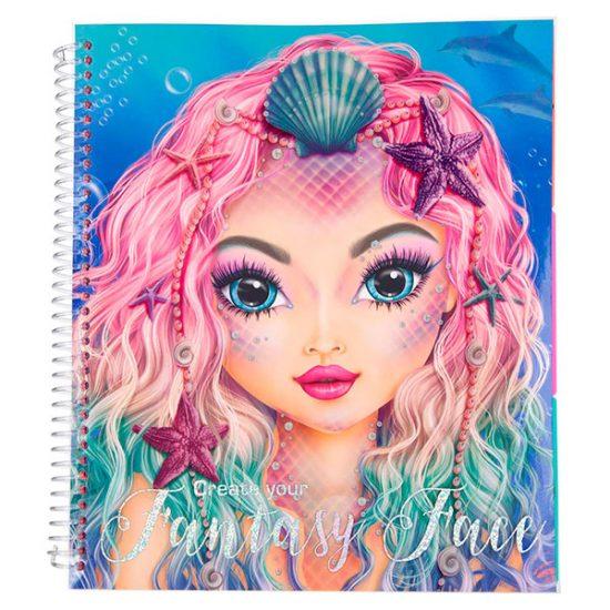 Libro de Colorear - Create your Fantasy Face - TOP MODEL