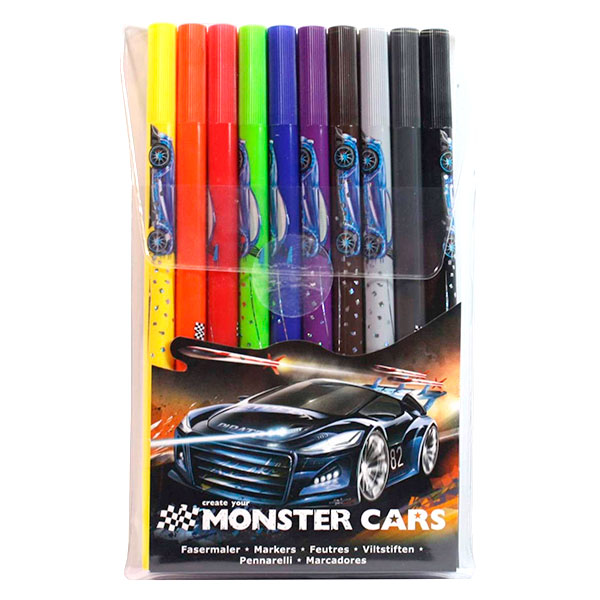 Marcadores MONSTER CARS