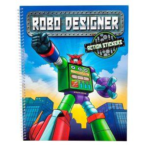 Robo designer - Libro para colorear - Creative Studio