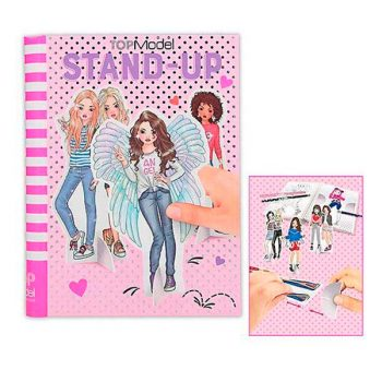 Stand-Up - Libro para Colorear - TOP MODEL