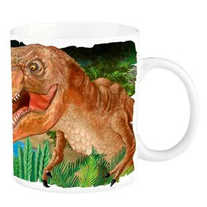 Taza mágica - Dino World