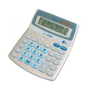 Calculadora de sobremesa MILAN 152512BL