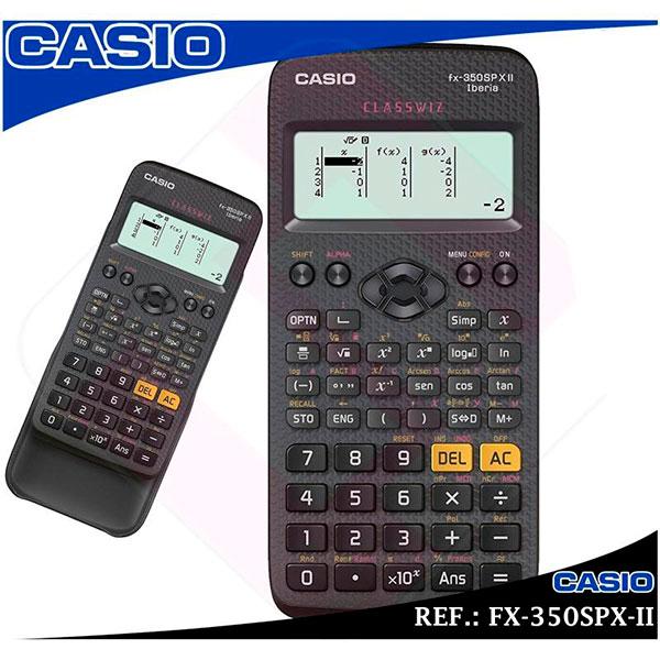 CALCULADORA CASIO TECNICA CIENTIFICA FX-350SPX-II