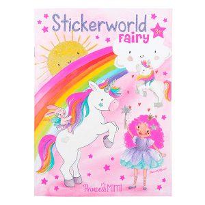 Libro para colorear para niñas. Diseño: Princess Mimi. Dimensiones: aprox. 18 x 24,5 x 0,5 cm. Con muchas pegatinas para decorar y diseñar.