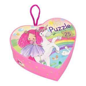Puzzle Princess Mimi - Caja forma de Corazón