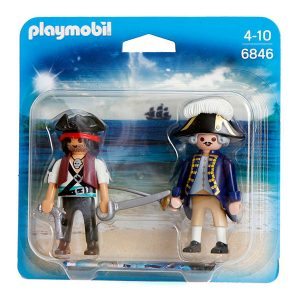 Playmobil Duo-Pack Pirata y soldado 6846